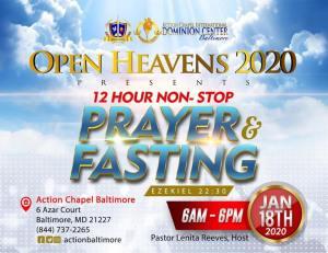 12 Hr Prayer 2020