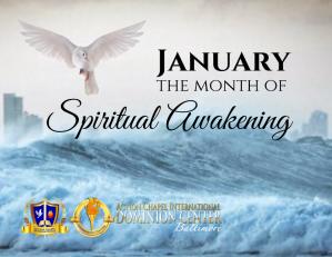 January 2020 Spiritual Awakening